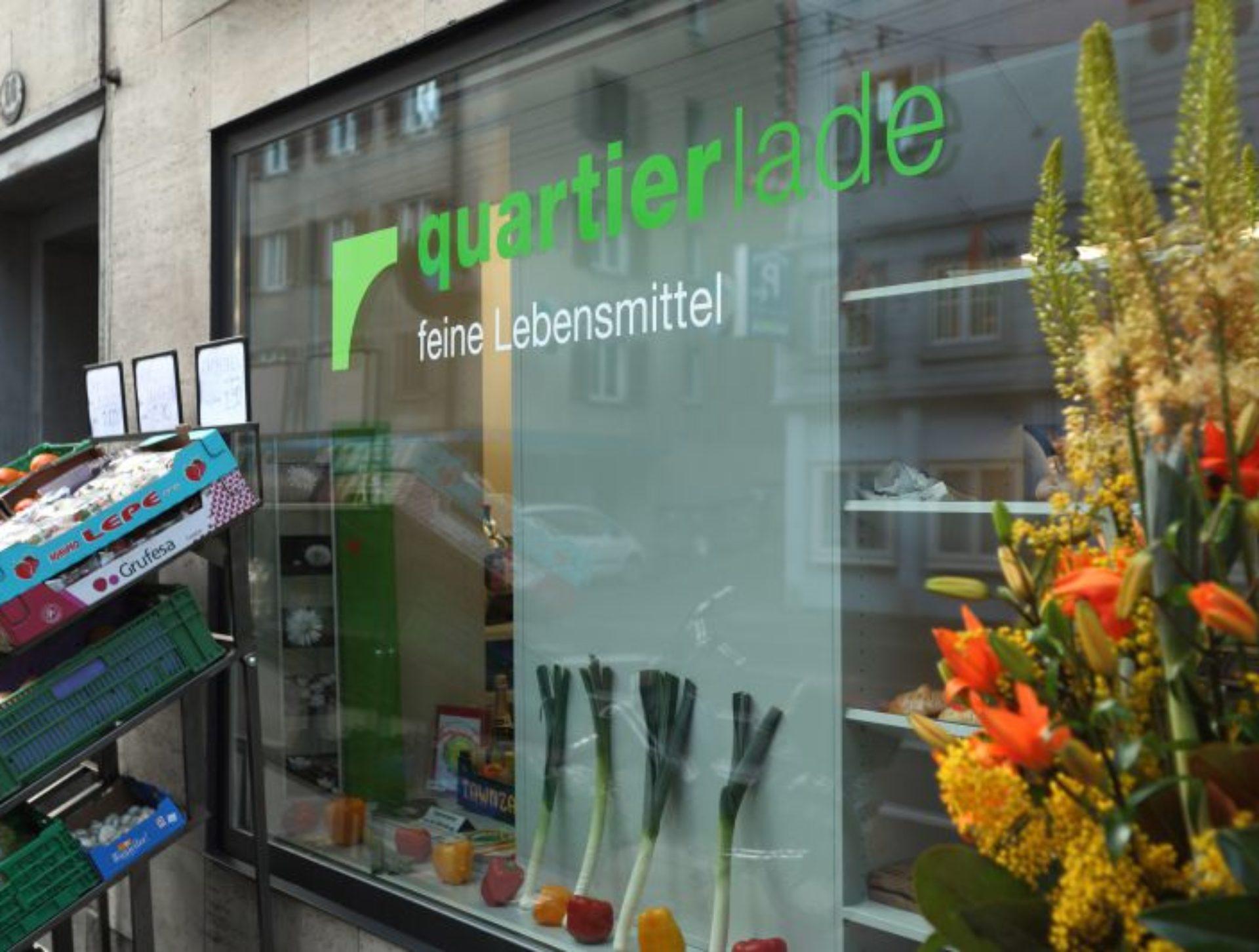 2012 Quartierlade Baselstrasse. Die Wärchbrogg übernimmt am 1. März den Lebensmittelladen vom Verein Quartierlädeli an der Baselstrasse. Sie schafft im Quartierlade weitere Stellen für beeinträchtigte Menschen.