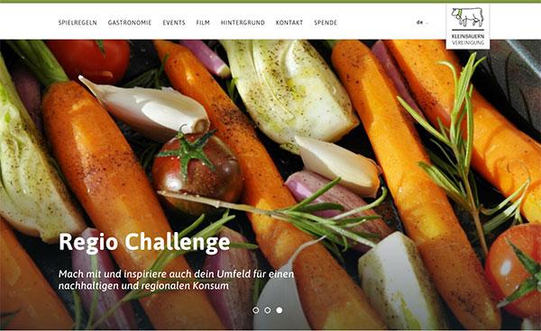 Regio Challenge Website