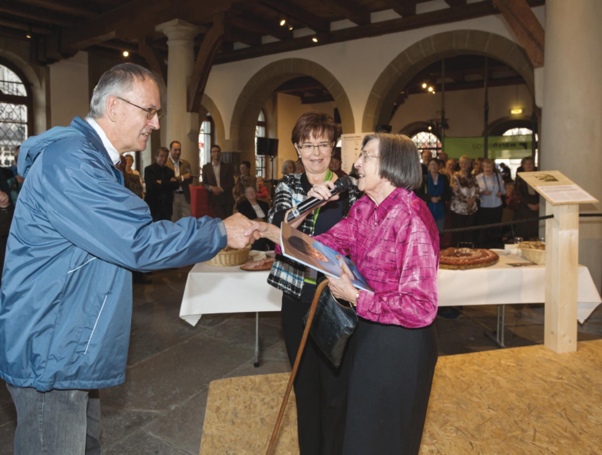 2012 Jubiläumsausstellung.50 Jahre Wärchbrogg – das Jubiläum ist im September 2012 Anlass für eine Ausstellung in der Kornschütte Luzern. Während vier Tagen gibt die Wärchbrogg Einblick in ihre Tätigkeiten.