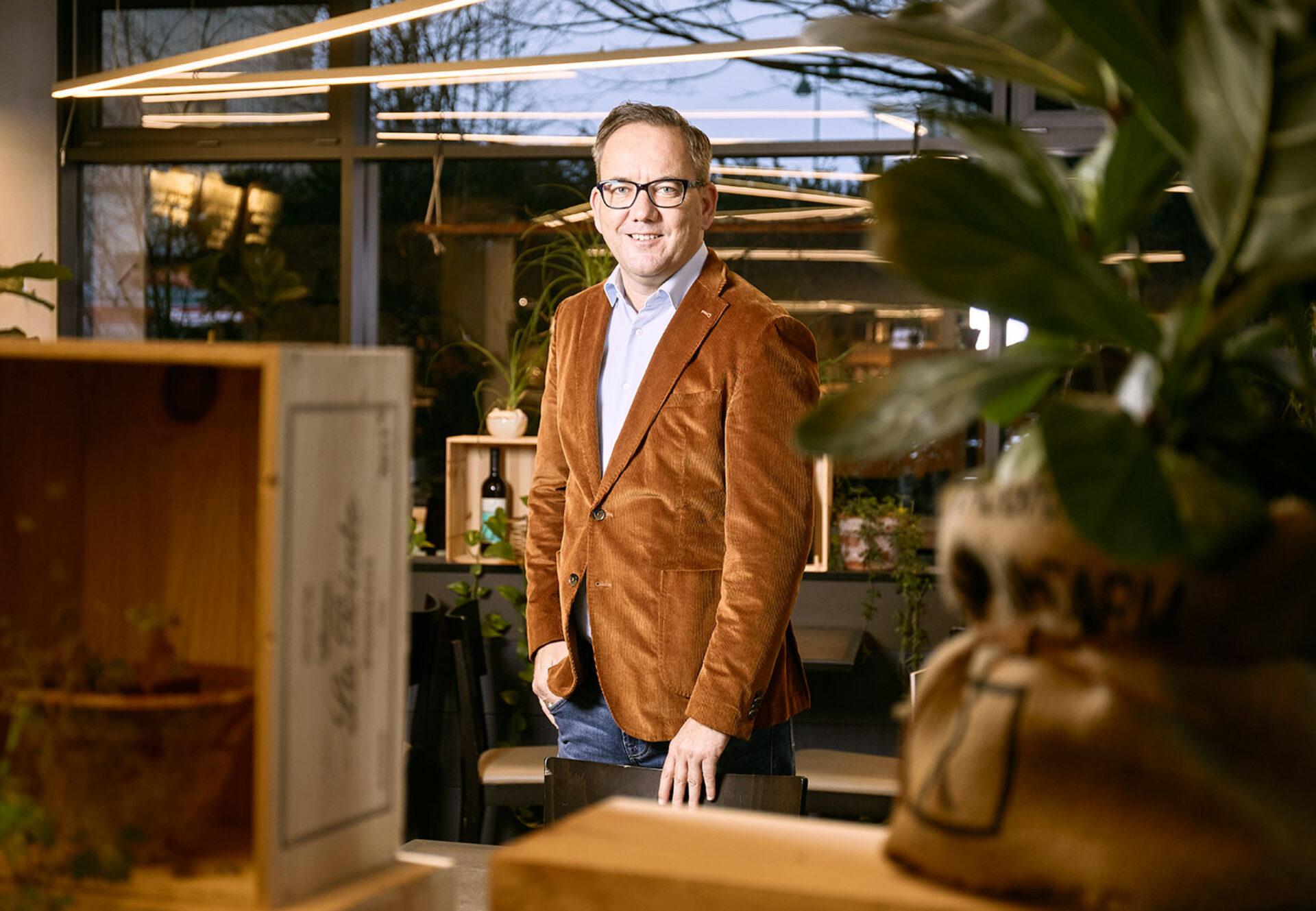 Wärchbrogg Leiter Gastronomie Pascal Bättig