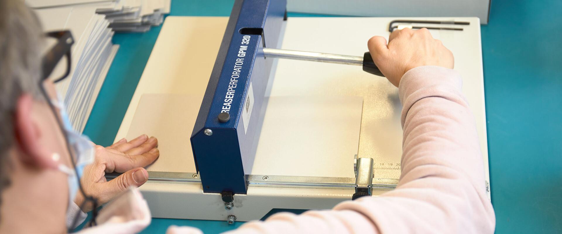 Wärchbrogg Papierverarbeitung
