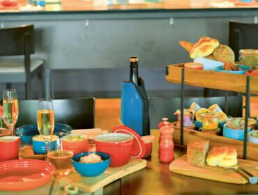 Restaurant Quai4 Brunch am Tisch