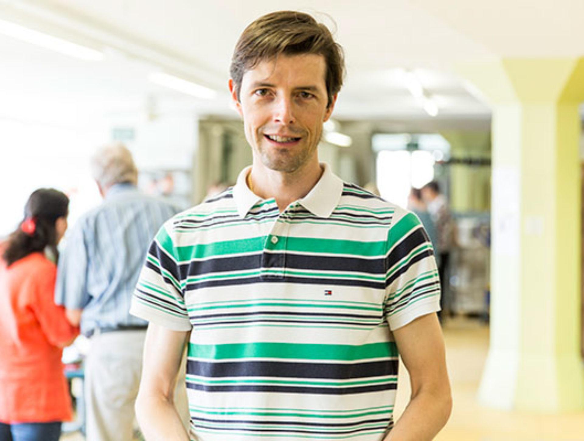 Stefan Sidler, Besucher «Ich bin zufällig vorbeikommen und sehe, wie wichtig sinnvolle Arbeitsplätze für alle sind.»