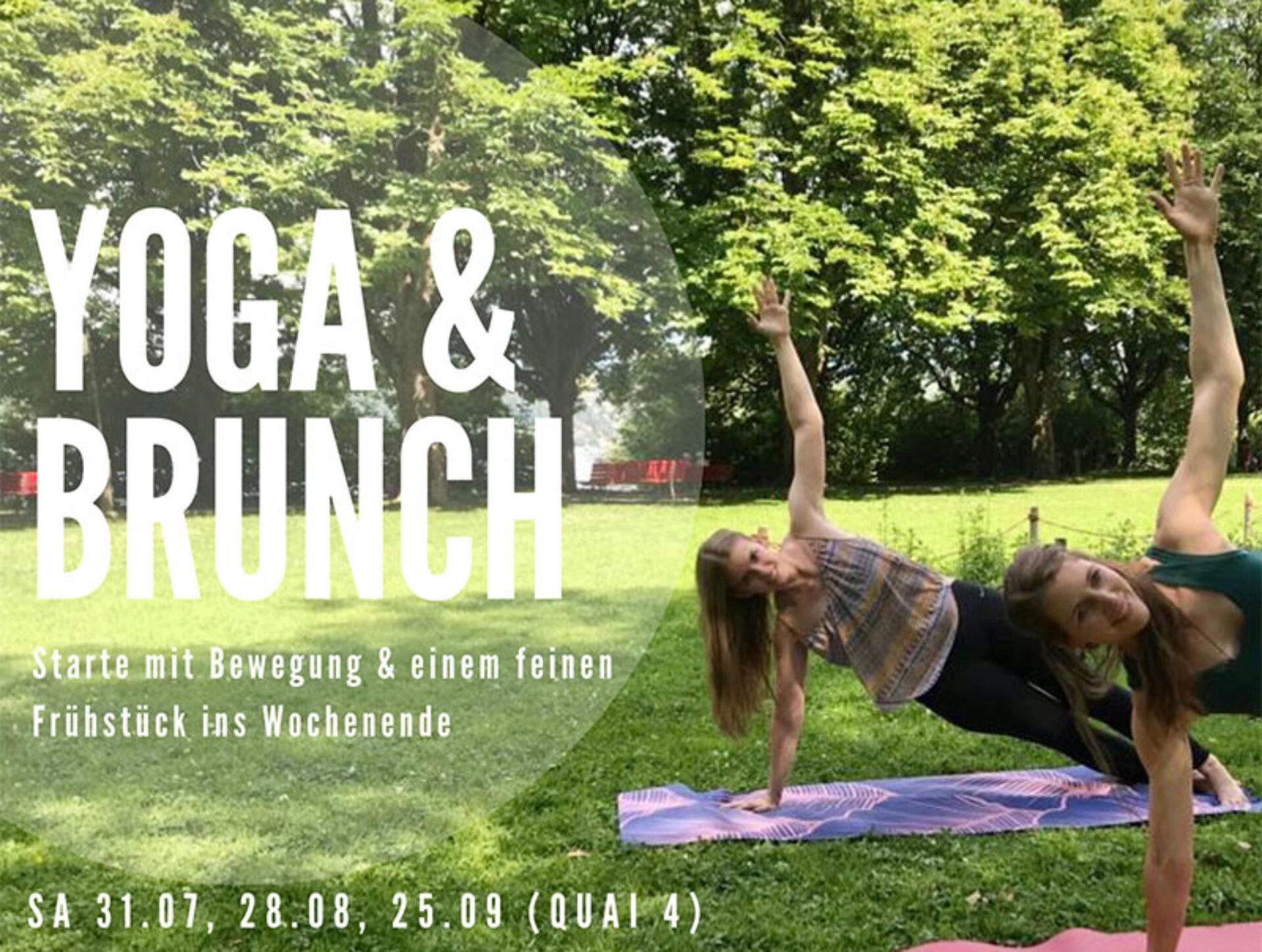 Yoga und Brunch im Quai4