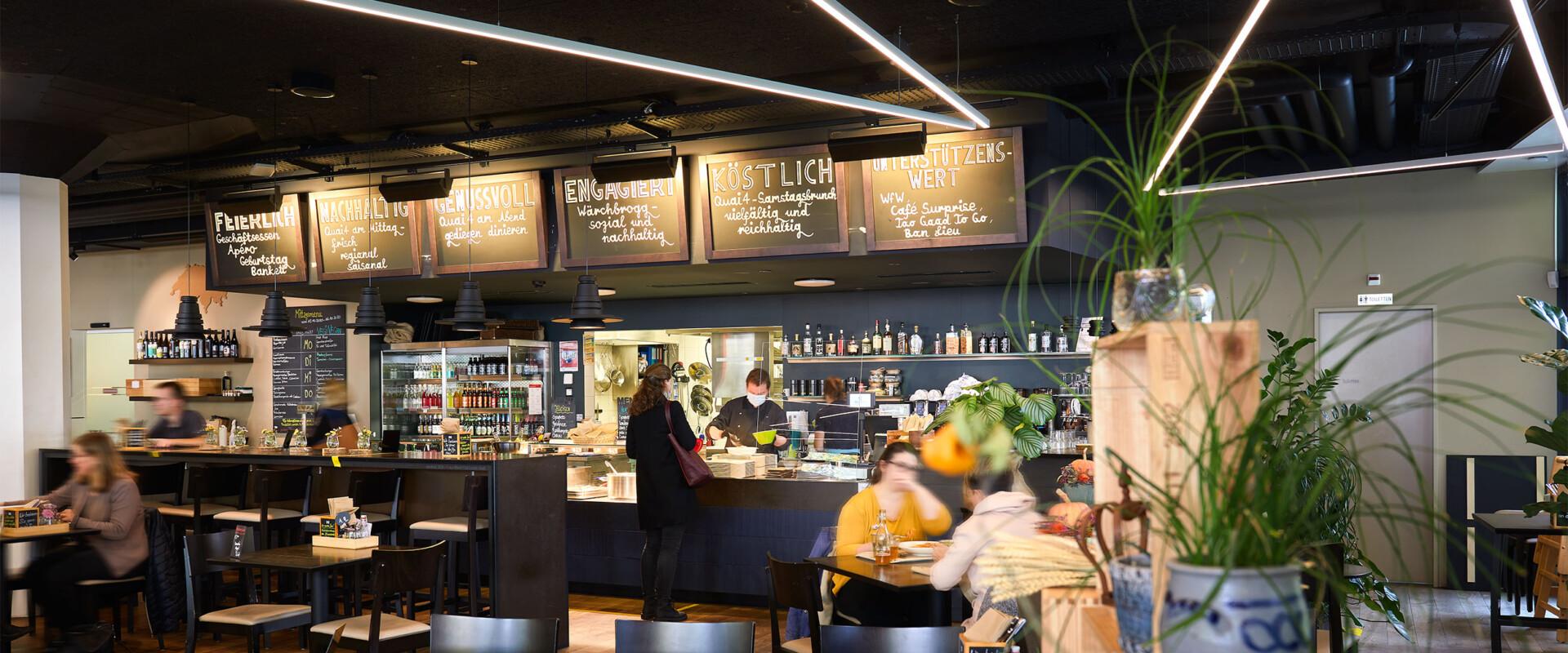 Wärchbrogg Restaurant Quai4