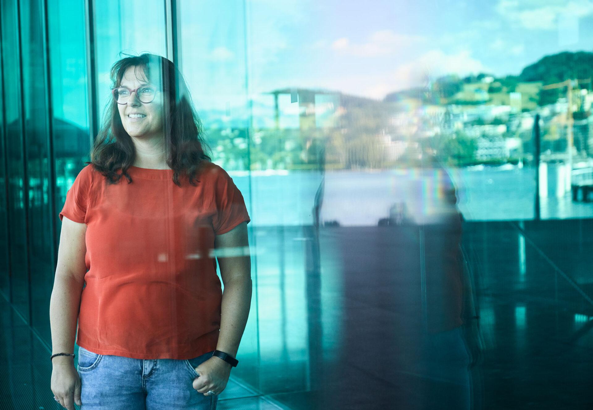 Andrea Schmid - Fachperson in der Wärchbrogg